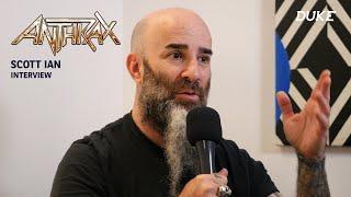 Anthrax - Interview Scott Ian - Paris 2017 - Duke TV [VOSTFR]