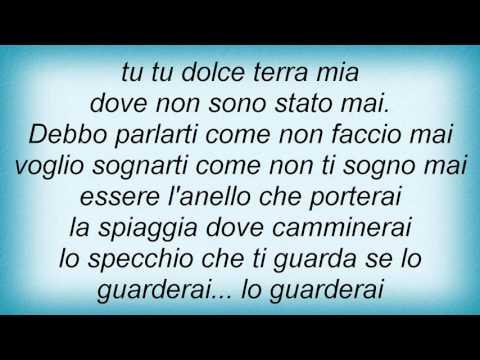 , title : 'Lucio Dalla - Tu Non Mi Basti Mai Lyrics'