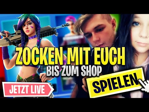 Fortnite Shop Stream 🛒Fortnite SKIN CONTEST/Abo Zocken💥Fortnite Live Deutsch