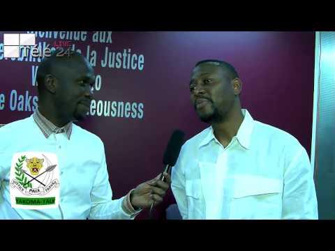 TÉLÉ 24 LIVE: Le pasteur Kashé Kashala défend le combat et tous les combattants