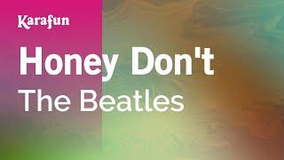 Download Lagu Karaoke Honey Don't - The Beatles * Mp3