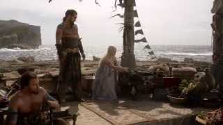 During the wedding ceremony, Daenerys is given two wedding gifts. The first is a collection of books from the Seven Kingdoms,...