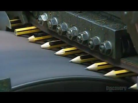 原來鉛筆是這麼製作出來的