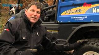 5. New Holland UTV, Rustler 120 - PowerGear