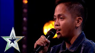 Video Nervous singer Rodelle from the Philippines lights up the stage | Ireland's Got Talent 2019 MP3, 3GP, MP4, WEBM, AVI, FLV Maret 2019