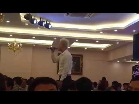 Vũ Duy Khánh hát live Vợ Yêu tại đám cưới Duy Khoa