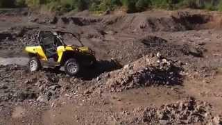 10. can-am Commander 1000 on a run