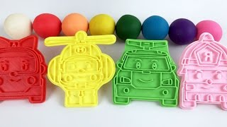 Video Learn Colors With Play Doh The Super  Robocar Poli Transforming Robots Amber Roy Helly MP3, 3GP, MP4, WEBM, AVI, FLV Juli 2018