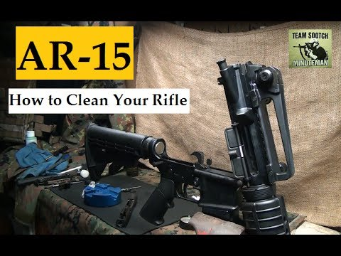 How to Clean the AR 15 / M4 Carbine