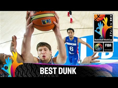 BEST - Watch Slava Kravtsov's dunk for Ukraine v the Dominican Republic. The 2014 FIBA Basketball World Cup will take place in Spain from 30 August - 14 September and will feature the best international...