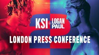 KSI vs Logan Paul 2: London Press Conference