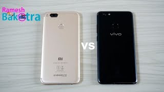 Video Vivo V7 Plus vs Xiaomi Mi A1 Speed Test Comparison MP3, 3GP, MP4, WEBM, AVI, FLV November 2017