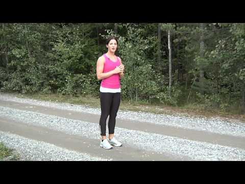 video om löpteknik