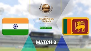 """(ELIMINATOR) ICC CHAMPIONS TROPHY 2017 GAMING SERIES - INDIA v SRI LANKA - GROUP B MATCH 8 (DON BRADMAN CRICKET 17, FULL 1080P HD, 30FPS, XBOX ONE S)Check out the Champions Trophy 2013 Gaming Series playlisthttps://www.youtube.com/playlist?list=PLdKwevnrzNGy2Jax2seo6LK0hiYjwt1PKICC Champions Trophy 2017 FixturesMatch 1 - England v BangladeshMatch 2 - Australia v New ZealandMatch 3 - South Africa v Sri LankaMatch 4 - India v PakistanMatch 5 - Australia v BangladeshMatch 6 - England v New ZealandMatch 7 - Pakistan v South AfricaMatch 8 - Sri Lanka v IndiaMatch 9 - New Zealand v BangladeshMatch 10 - England v AustraliaMatch 11 - India v South AfricaMatch 12 - Sri Lanka v Pakistan Semi Final GA1 v GB2Semi Final GB1 v GA2Final TBD v TBD*Warning: The following is a gameplay from the video game """"Don Bradman Cricket 17"""" for the ps4, Xbox one s and pc. It is by no means actual highlights of the ongoing event """"""""ICC Champions Trophy 2017""""  My gaming setuphttps://www.elgato.com/en/gaming/game-capture-hd60http://store.steampowered.com/app/464850/Don_Bradman_Cricket_17/http://www.vegascreativesoftware.com/ca/vegas-pro/Like me on Facebookhttps://www.facebook.com/PGEHamzah/?ref=bookmarksBe sure to message me any important questions onto there.Comment who you think will win the ICC Champions Trophy 2017 Gaming Series.Be sure to subscribe to join the PGE Army!"""