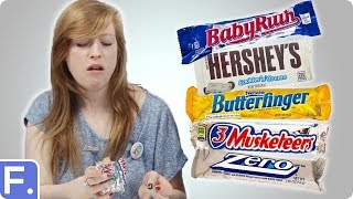 Irish People Taste Test American Chocolate Bars