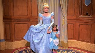 Sally with Disney Princesses in real life!!