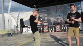 HELIUM and BEATFOOT beatbox freestyle ЮЖНАЯ СТОЛИЦА г. Сочи