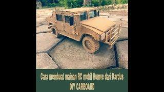 Cara membuat mainan RC CAR dari kardus ### AMAZING DIY HAND MADE