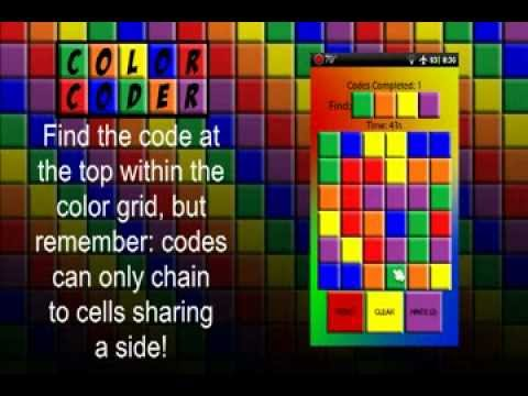 Video of Color Coder