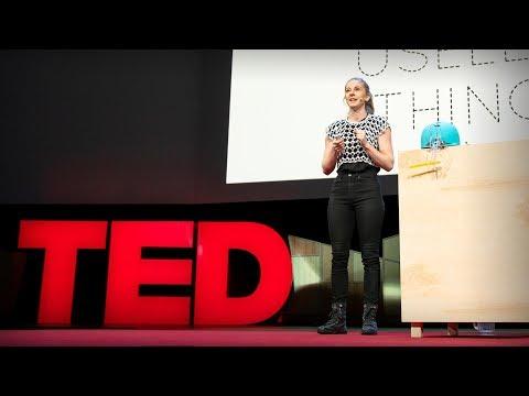 Why you should make useless things | Simone Giertz