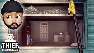 I'M A GRADE A THIEF!! | Thief Simulator #1