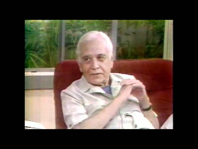 Gilberto Marcos en entrevista con Rufino Tamayo