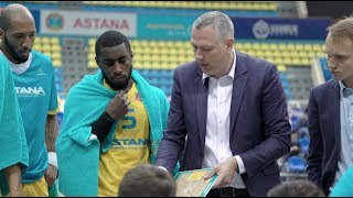 Hightlits of the match National league: «Astana» — «ASU Barsy Atyrau» (Game 1)