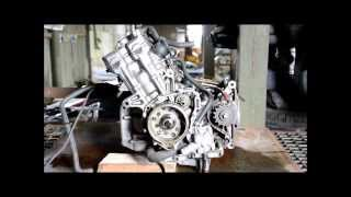 6. motor Honda CB 600 Hornet 2001 PC25E, engine