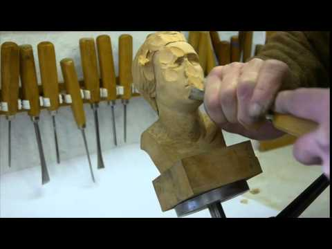 Woodcarving - Carving with Advanced Preparation - Ian Norbury