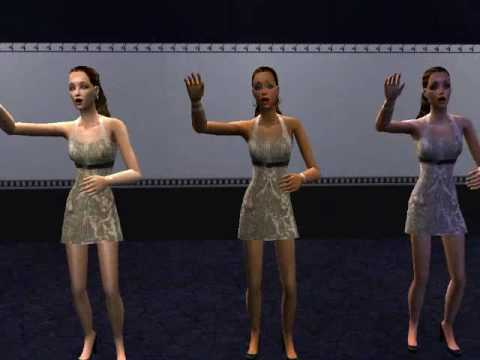 Sims 2 Beyonce: Single Ladies(Put A Ring On It)