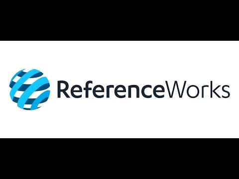 How To Use ReferenceWorks
