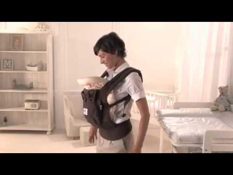 ERGObaby Anleitung  Der Neugeborenen Einsatz