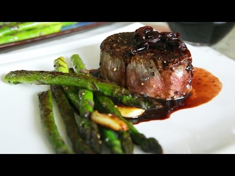 Eye Fillets With Shallot And Red Wine Sauce