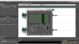 Как улучшить качество звука голоса на записи обработка в Adobe Audition.