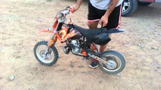 8. 2008 ktm 50 sx Sr. Problems