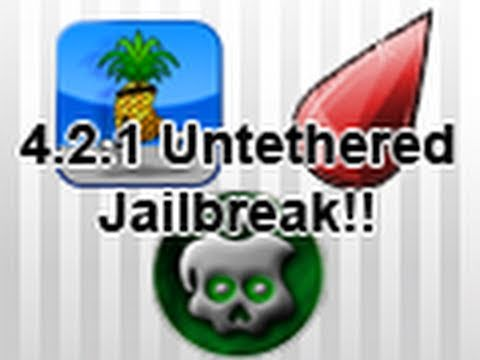 rubyra1n - MY PREVIOUS VIDEO**: http://www.youtube.com/watch?v=9zXEsUyChiY In this video, I give you all information about the upcoming 4.2.1 Untethered Jailbreak for...