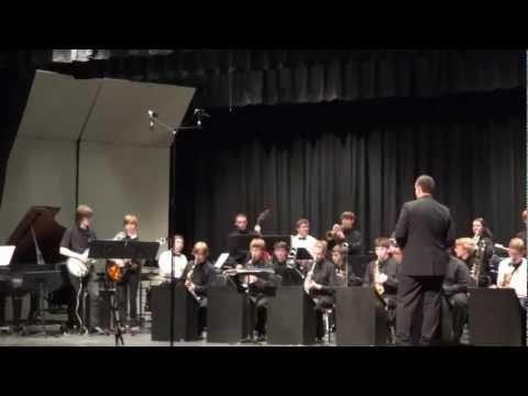 Buchholz High School Jazz Band 2012 Winter Concert-Frosty the snowman.