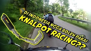 "Video #7 | ""POLISI PAKAI KNALPOT RACING DITILANG SIPIL"" [REACTION] 