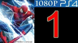The Amazing Spider Man 2 Walkthrough Part 1 PS4 Gameplay Let's Play Spider-Man 2 HD - No Commentary
