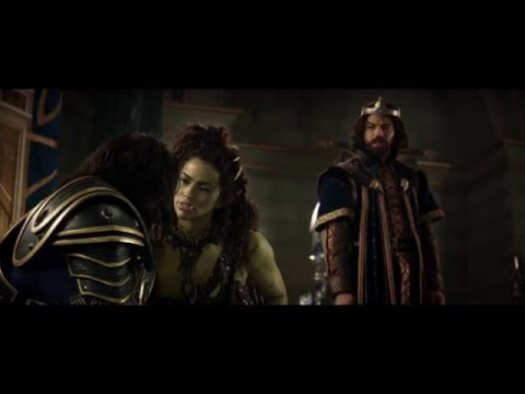 Warcraft (Clip 'King Llane Asks Garona to Help Them')