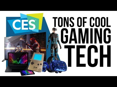 All the cool Gaming tech shown-off at CES 2018 (видео)