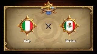 MEX vs ITA, game 1