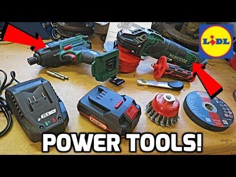 Lidl Sells Power Tools?!
