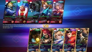 Video ZXUAN VS WARPATH ! CRAZY FANNY - INSANE GAMEPLAY - MOBILE LEGENDS MP3, 3GP, MP4, WEBM, AVI, FLV Oktober 2017