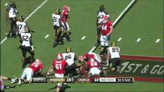 Kony Ealy vs Georgia (2013)