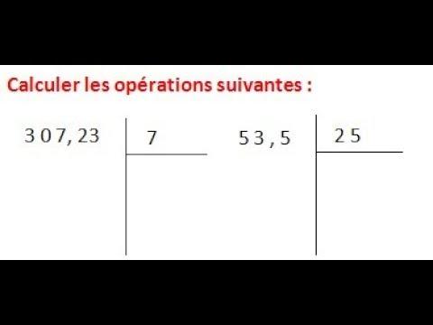 Maths 6ème - Les opérations : Addition Soustraction ...