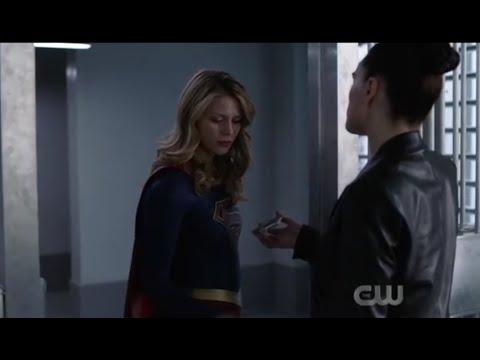 Supergirl 4x18 Lena gave supergirl kryptonite shield part6