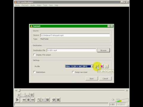 H264 - How To Encode H264 Streaming MP4; http://video-Tips.TV.