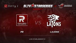 Lajons vs PR, game 1