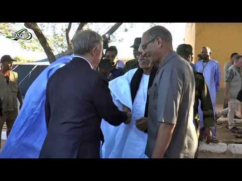 Brahim Gali recibe a Horst kohler, enviado de la ONU para el Sahara Occidental